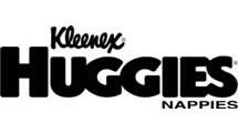 Logo Huggies (Kleenex)