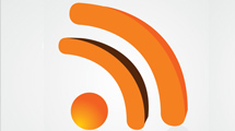 Icono RSS 3D
