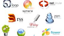 Iconos 3D con logos