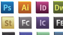 Iconos Adobe
