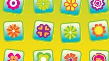 Iconos con flores