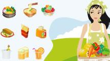 Iconos de Alimentos