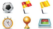 Iconos de deportes en 3D