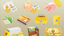 Iconos de dinero