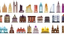 Iconos de Edificios