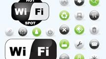 Iconos de redes y Wi-Fi