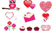 Iconos de San Valentín