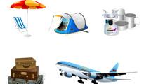 Iconos de viajeros
