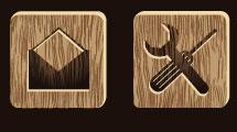 Iconos en madera