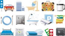 Iconos: Hotelería