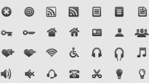 Iconos para webs y moviles