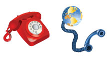 Iconos sobre comunicaciones