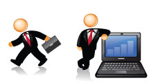 Iconos sobre negocios