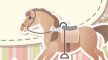 Ilustración para baby shower