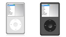 iPod Classic en dos colores