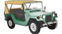 Jeep verde