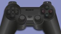 Joystick de PlayStation negro