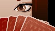 Juego de cartas misteriosas