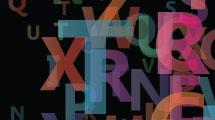 Letras con transparencias