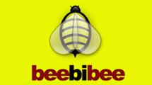 Logo con abeja