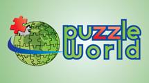 Globo terráqueo en forma de puzzle