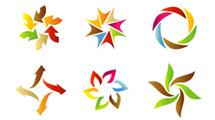 Logos a puro color