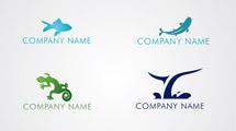 Logos con siluetas de animales
