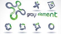Logos con verde y marrón