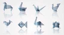 Logos origami