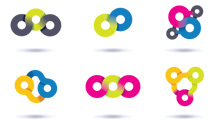 Logos pequeños circulares