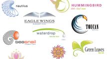 Logos sobre naturaleza