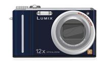 Lumix Panasonic Azul