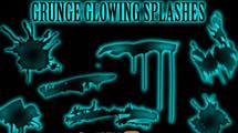 Manchas grunge glow