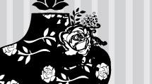 Maniquí floral