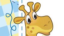 Marco con jirafa