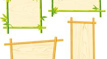Marcos de bambú