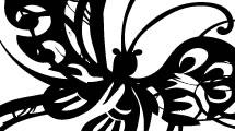 Mariposa Ornamental 2