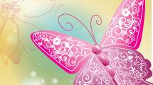 Mariposas ornamentadas