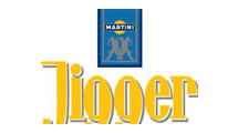Logo Martini Jigger