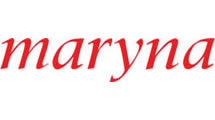 Logo Maryna Red 032C
