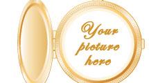 Medallón dorado