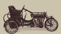 Medios de transporte vintage