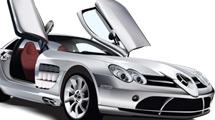 Mercedes plateado