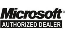 Logo Microsoft Authorized dealer