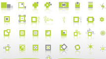 Mini logos en verde