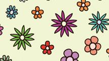 Motivos con flores