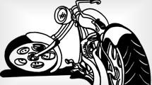 Moto caricatura