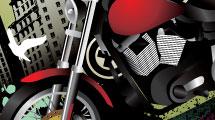 Motocicleta grunge