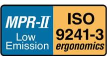 Logo MPR-II ISO 9241-3