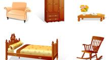 Muebles vectoriales